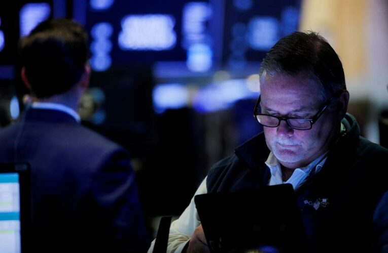 Wall St falls as private jobs data sparks taper fears